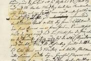 Johan Sandström brev till sonen 1825 till sonen