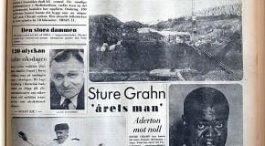 Skannad bild ur tidning från december 1958