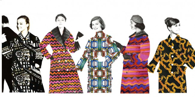 Åk 8 målar nya mönster till kapporna