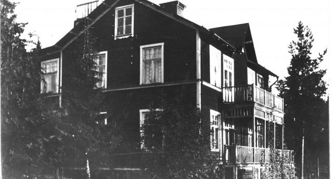 Villa Utsikten på Hamrinsberget i Umeå