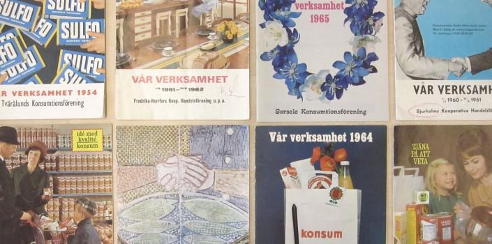 Västerbottniska konsumtionsföreningars verksamhetsberättelser