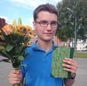 Anton Rosendahl, vinnare av Lokalhistoriskt Ungdomsstipendium