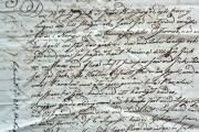 Johan Jr Johan Jr Sandströms brev, 1825 Klicka på bilden för att se den större.