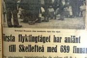 Norra Västerbotten 22 sept 1944