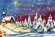 Julkort från förr. Klicka på bilden för att se den större.