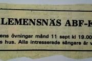 Klemensäs ABFkör