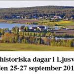 Lokalhistoriska dagar i Ljusvattnet