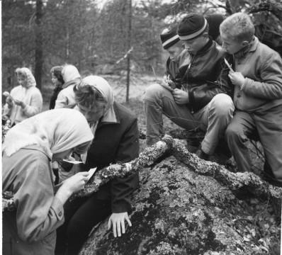 Medlemmar i Friluftsfrämjandets lokalavdelning Norsjö