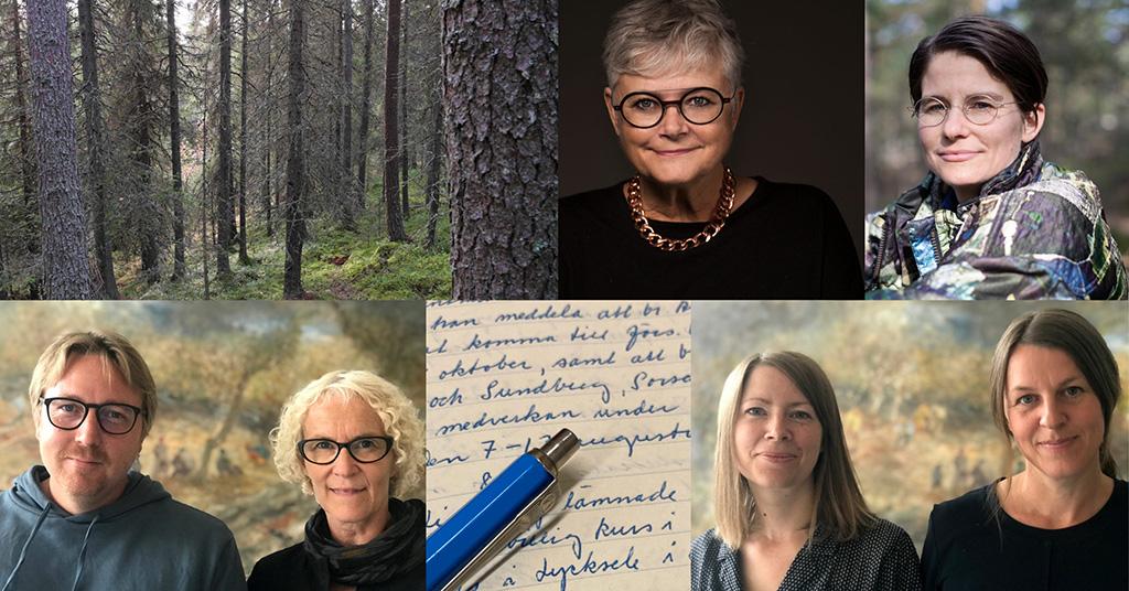 Att berätta utifrån arkivmaterial – film och samtal under Berättarfestivalen i Skellefteå