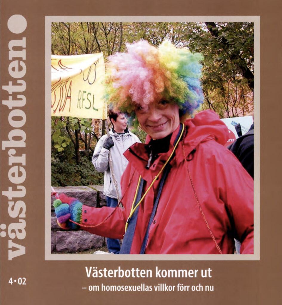 Omslag tidskriften Västerbotten